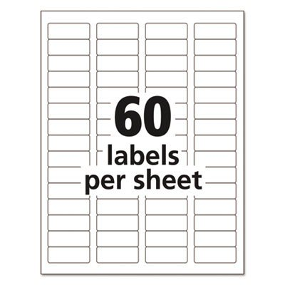avery dennison label templates avery dennison 5155 easy peel return address label